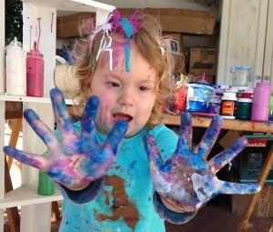CleaningAfterArtSession-RainbowGirl07